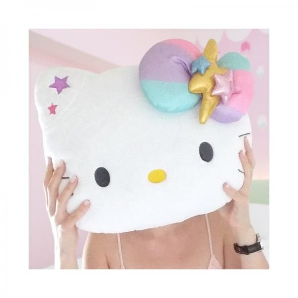 Hello kitty coussin peluche