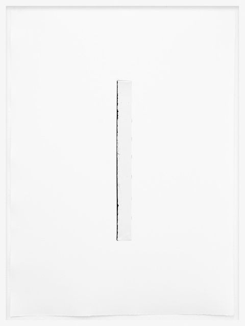Johannes Bendzulla | Schwarzes Monochrom, 2012 | Inkjet print on handmade paper