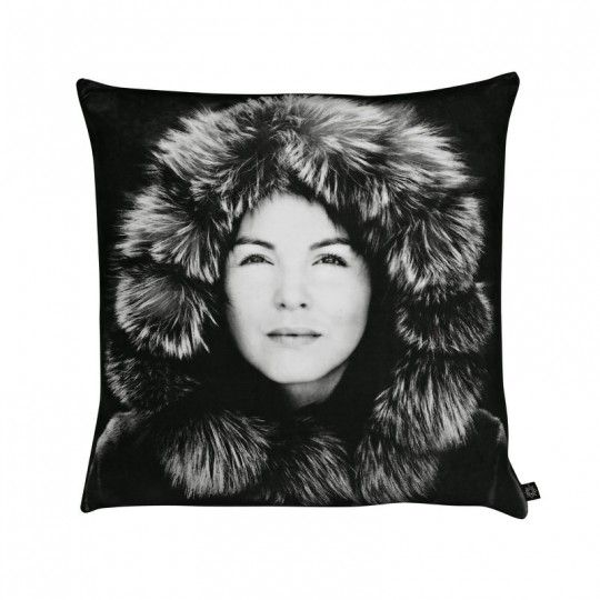 Gorgeous Greenlandic woman on a velvet cushion. Only 2 in stock.
