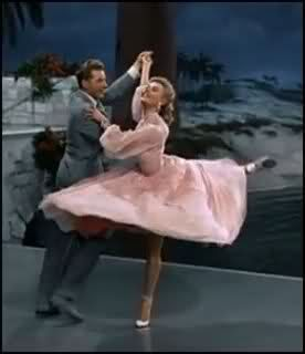 "My favorite piece of choreography EVER! ""The Best Things Happen While You're Dancing"" from White Christmas. Choreographed by Robert Alton & performed by Vera Ellen and Danny Kaye."