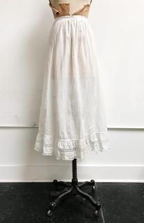 Miette Petticoat Skirt / antique Edwardian skirt / 1910s antique petticoat