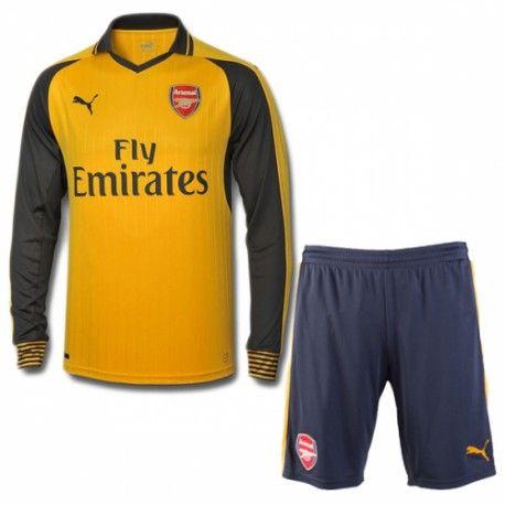 £19.99 Arsenal Kids Away Kit Long Sleeve 2016 2017