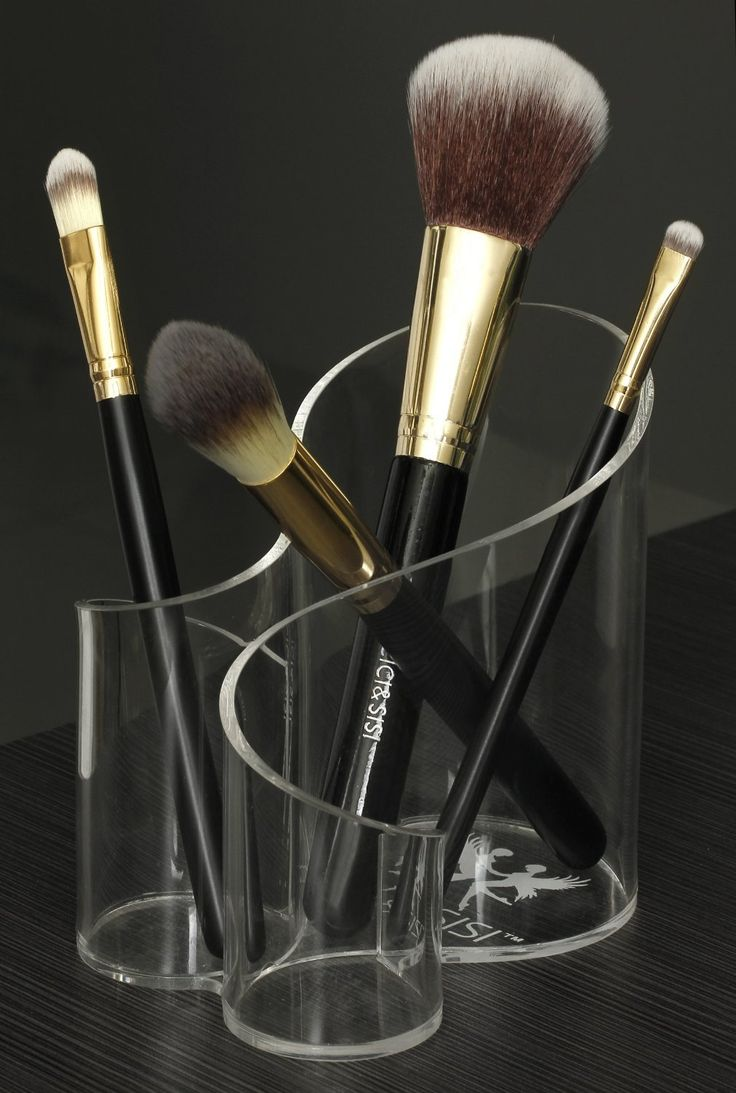 25+ Best Ideas About Makeup Brush Organizer On Pinterest