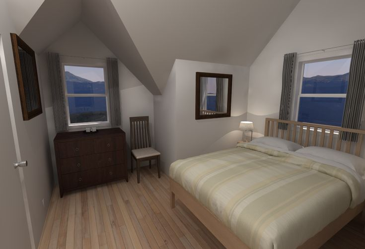 Bedroom Illustration Using Podium A Photorealistic Plugin