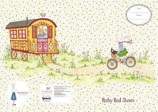 A4 Book Cover - Ruby on Bike
