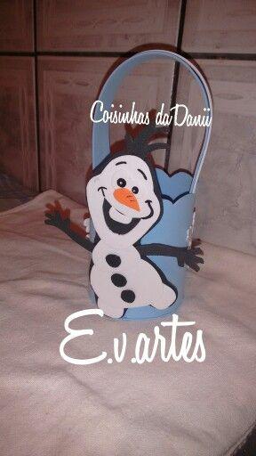 Lembrancinhas frozen Olaf