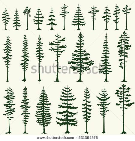 pine tree silhouette - Google keresés