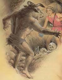 Resultado de imagen para mitologia griega minotauro y su laberinto
