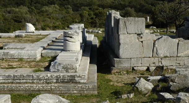 The Temple of Nemesis. Rhamnous, Greece. 436 B.C. – 432 B.C.