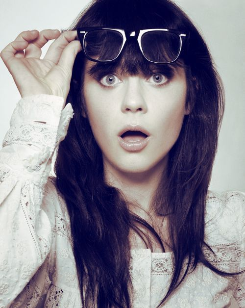 Zooey Deschanel, age 32. This Hollywood funnygirl co-founded Hello Giggles, the female version of 'Funny or Die,' known among women as a community site covering DIY and crafting projects, beauty, friendship, sex and more<<