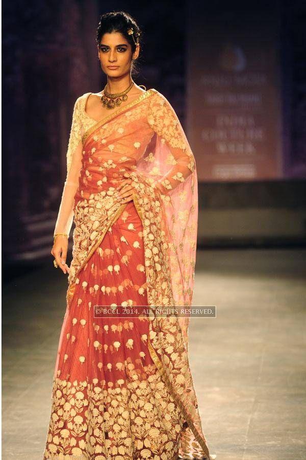 ICW '14: Anju Modi saree