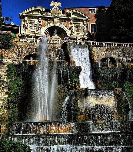 Villa d'Este a Tivoli     #TuscanyAgriturismoGiratola