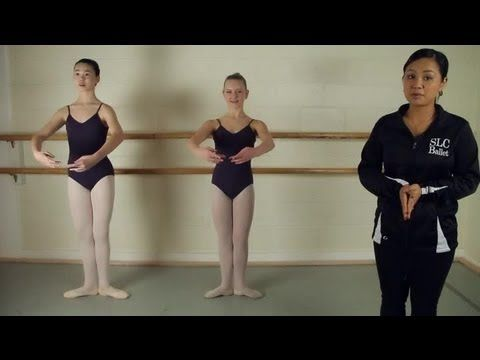 ▶ How to Teach the Ballet Positions to Young or Preschool Children : Ballet Lessons - YouTube