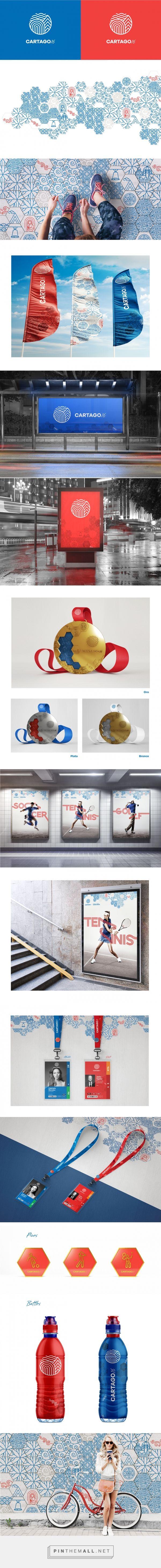 Cartago Sport Games Branding Concept | Abduzeedo