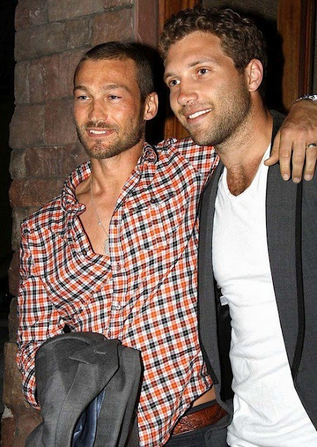 Andy Whitfield & Jai Courtney