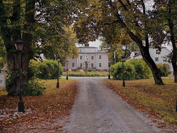 Castle Of Haga Enkoeping Sweden - Leif Sohlman