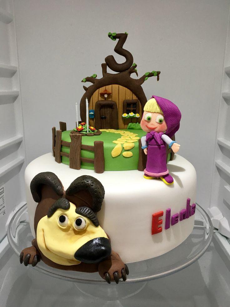 Children Cake, dort Masa a medved