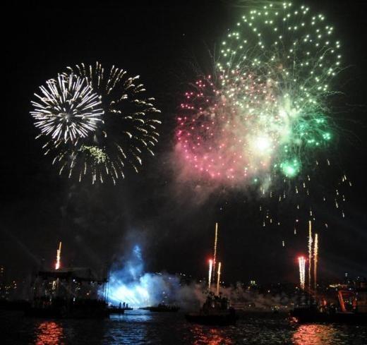 İstanbul'un fethinin 559. yıldönümü için müthiş kutlama 30.05.2012