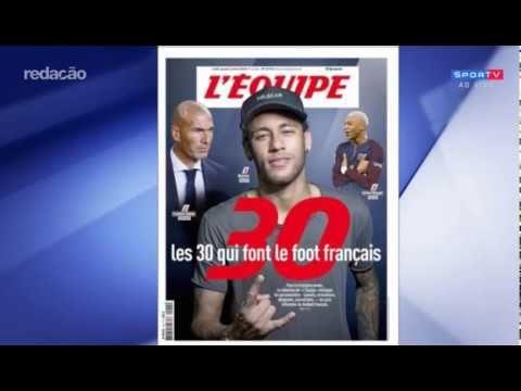 NEYMAR transforma a liga francesa e é destaque na França em 2017