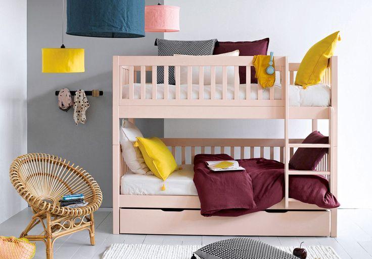 17 meilleures id es propos de lits mezzanine sur for Lit superpose perpendiculaire