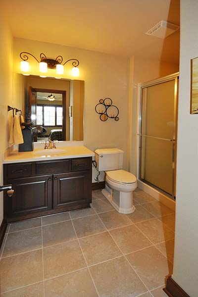 Ashland - Victory Homes of Wisconsin, Inc. Full bath for bedroom 2