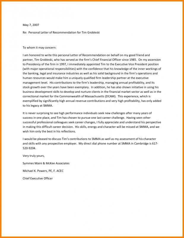 How To Write A Personal Letter Of Recommendation Https Nationalgriefawarenessday Com 423 Personal Reference Letter Letter Of Recommendation Reference Letter