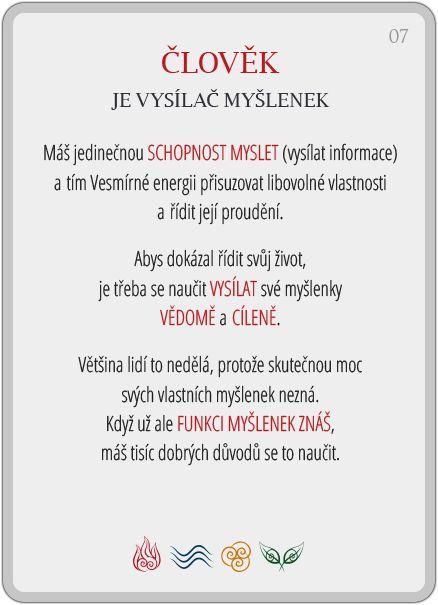 Portál pro osobní rozvoj změnou podvědomí a vlastní přitažlivosti: Člověče, poznej se — 7/24: Člověk