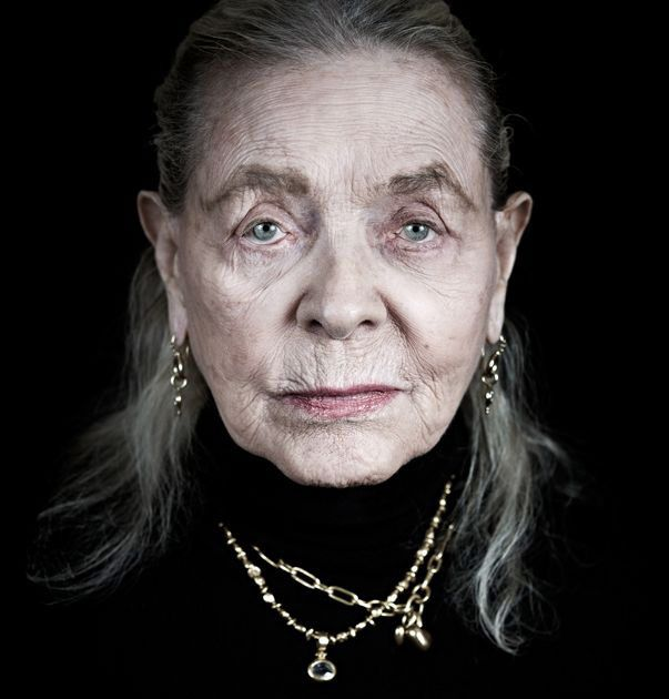 Lauren Bacall.....everyone ages. Every.One.  Be glad to be one of the few to be old enough to even have wrinkles....soooo many did not get that opportunity