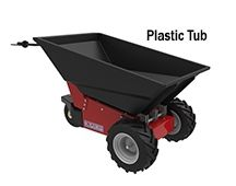 NEW for 2014, our Electric Wheelbarrow