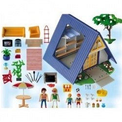 Playmobil Vacation House is the classic Playmobil toy - sturdy, well made, and designed to encourage pretend play and creativity. Whether it's...