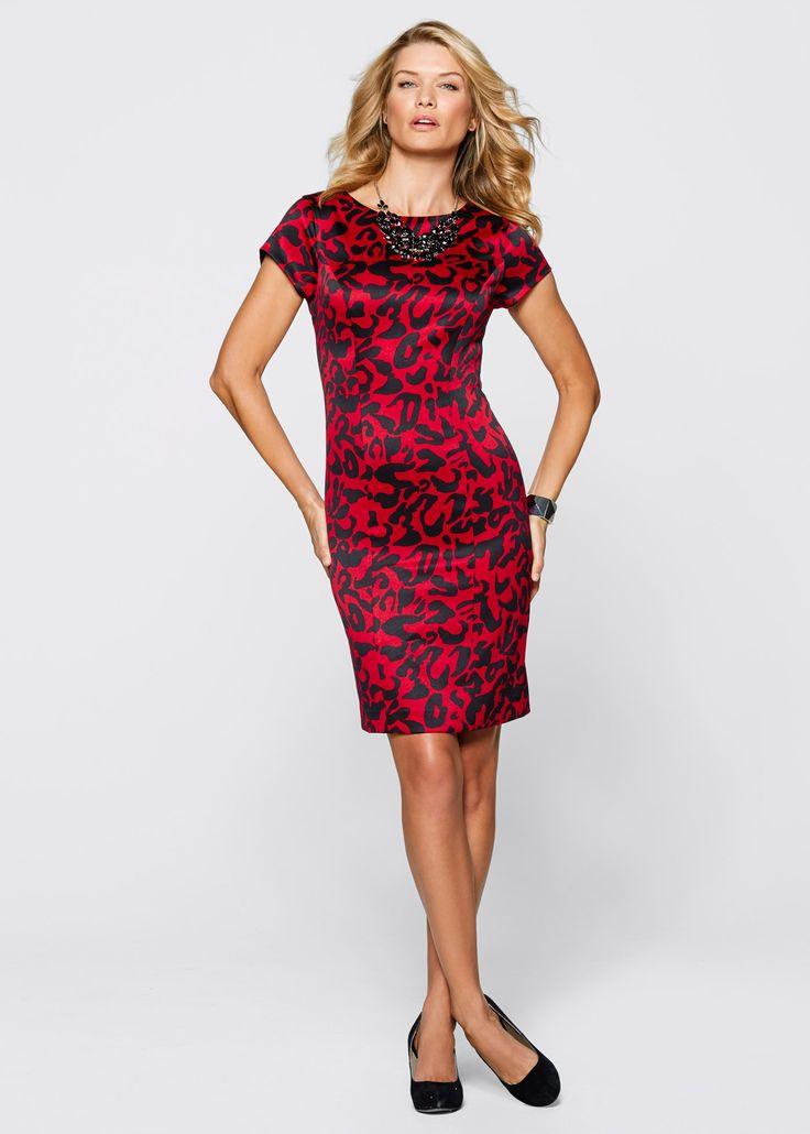 Kalem Elbise, bpc selection, kırmızı/siyah