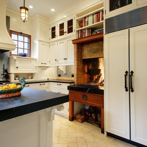 Best 25+ Kitchen Fireplaces Ideas On Pinterest