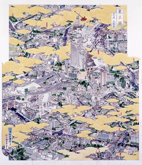 """「東京圖 広尾ー六本木」 """"Tokei (Tokyo): Hiroo and Roppongi"""""""