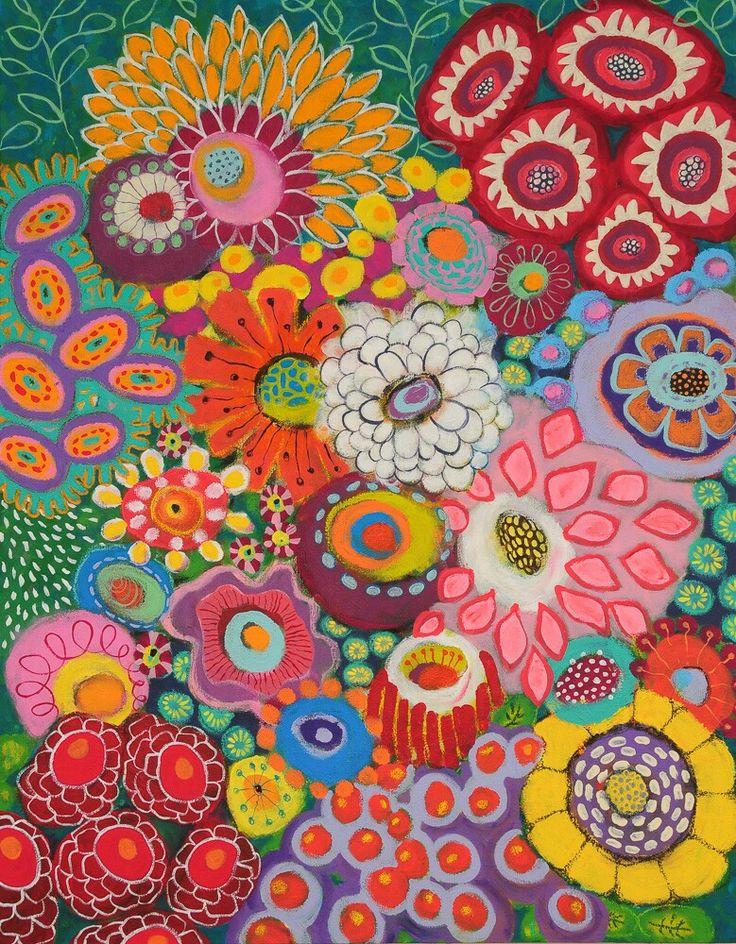 700mm x 900mm Acrylic on canvas - Liesel Malan