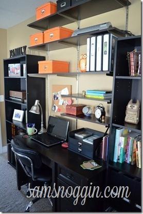 The Organized Desk from Sam's Noggin...it looks great!