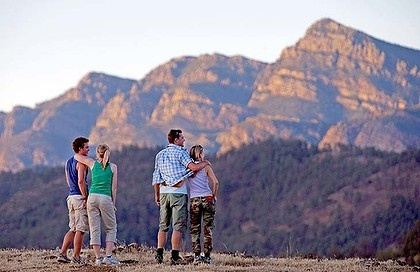 SA: Arkaba Walk ... a luxury guided walk in the Flinders Ranges, where the stops are as important as the steps