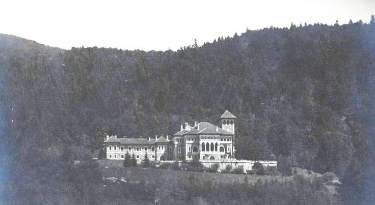 BUŞTENI - PALATUL CANTACUZINO - 1925
