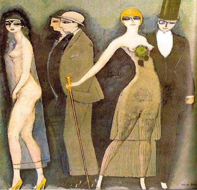 Montparnos Blues, Kees Van Dongen - 1920