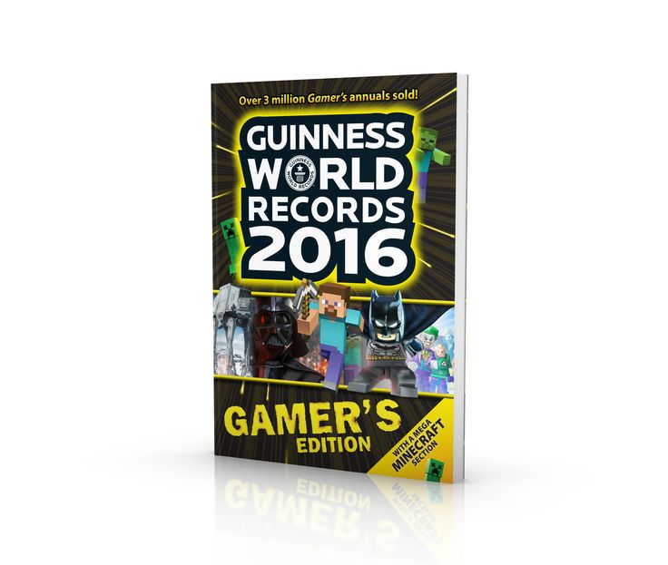 Guinness World Records Gamer's Edition cover design.