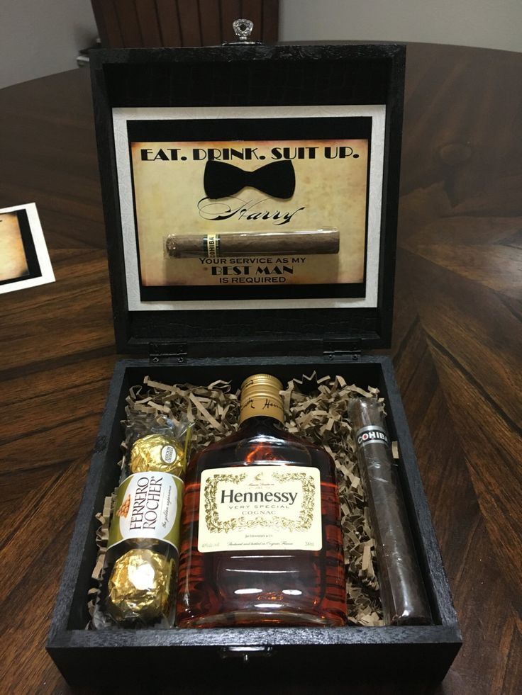 A personal favorite from my Etsy shop https://www.etsy.com/listing/274007566/will-you-be-my-groomsman-gift-box