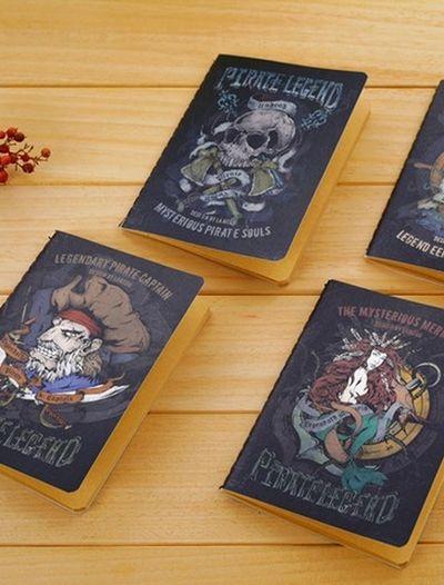 Cuaderno - Piratas buy here www.lacasadepapel.com