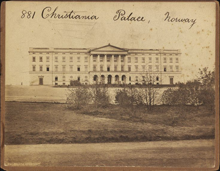 The Royal Palace, 1850s-1870s - Oslo, Norway