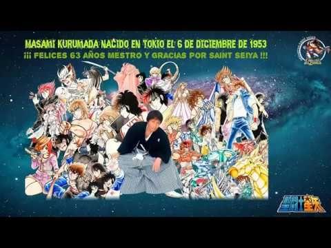 ¡¡¡ Felices 63 Años Maestro Kurumada y gracias por Saint Seiya !!! | Universo Saint Seiya - Caballeros del Zodiaco