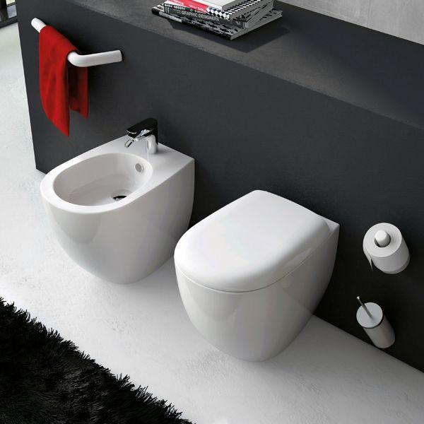 les 125 meilleures images du tableau salle de bains toilettes sur pinterest salle de bains. Black Bedroom Furniture Sets. Home Design Ideas