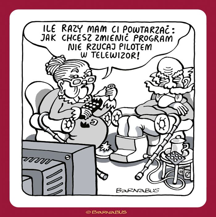 © Barnabus - Prezentacja kleju ▪ Presentation of glue - If you want to change the program do not throw the #remote at the #TV!