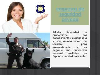 Los vigilantes de seguridad son el blanco directo para prevención de robos. Navegue por este sitio http://www.estrellaseguridad.es/servicios-seguridad-priva...
