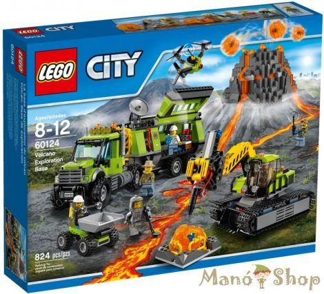 LEGO CITY Vulkánkutató Bázis 60124