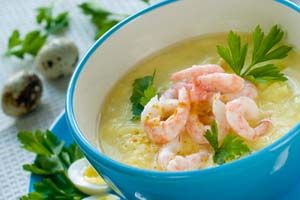 Louisiana Shrimp Chowder. Great for a cold rainy day!!