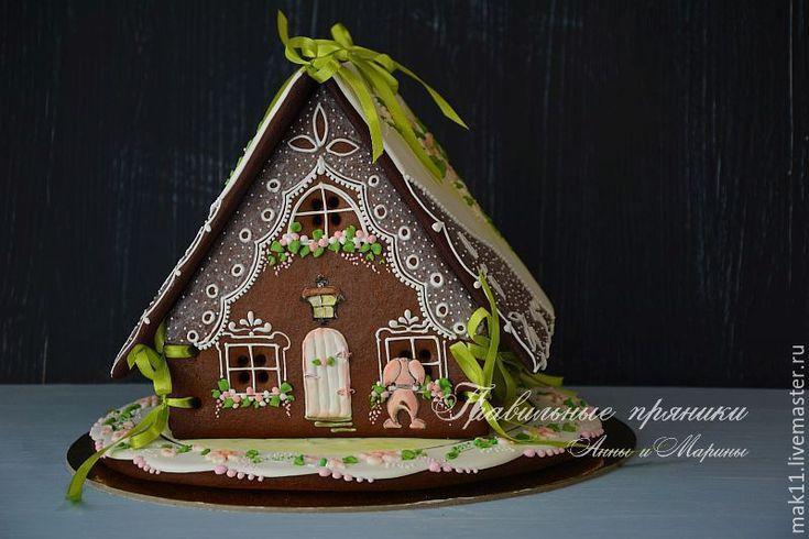 """Купить Пряничный домик """"Яблоневый цвет"""" Свадебный. - пряничный домик, пряничный домик купить"""