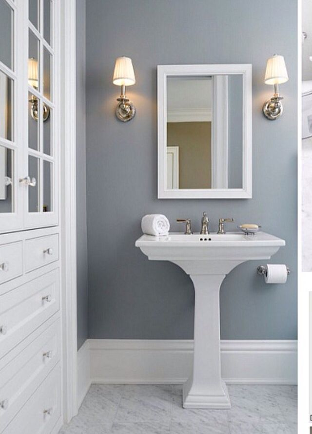 52 best images about wallpaper on pinterest paint colors for Best way to paint a bathroom